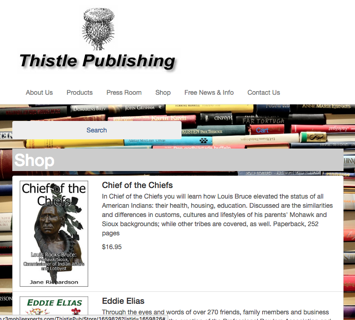 ThistlePub.com website created by R3 Web Solutions
